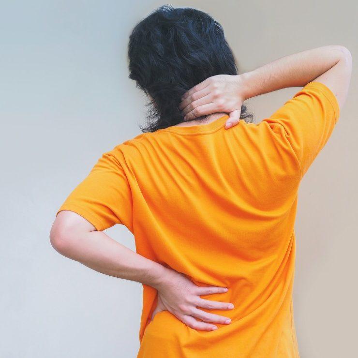Back shoulder pain circle